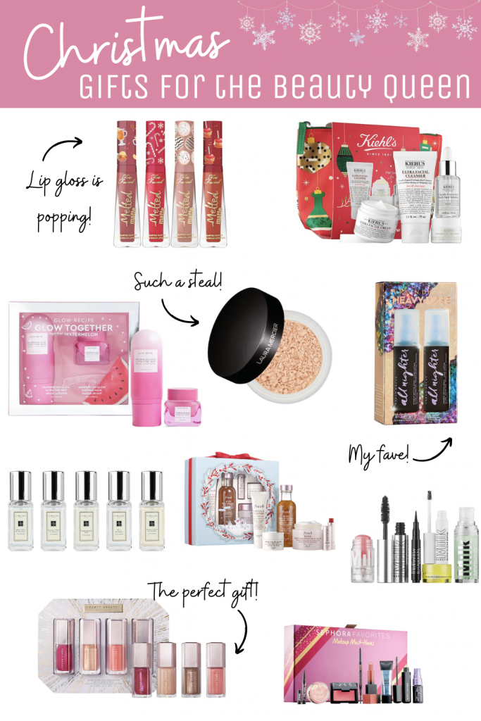 Christmas Gift Ideas for Beauty Lover (Pin this!)
